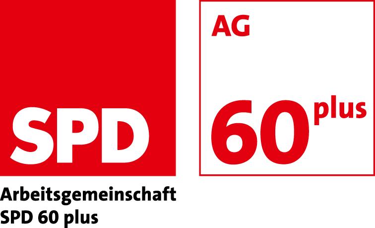 Logo der SPD-Arbeitsgemeinschaft 60plus (Seniorinnen und Senioren in der SPD)